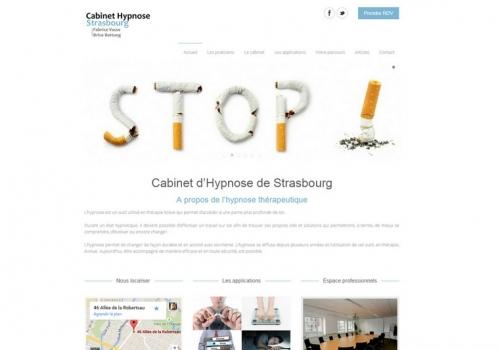 Création du site cabinet-hypnose-strasbourg.fr
