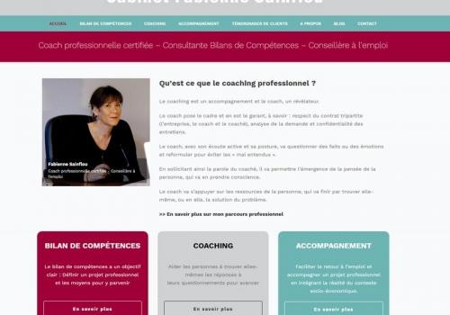 Refonte du site Internet FabienneSainflou.fr